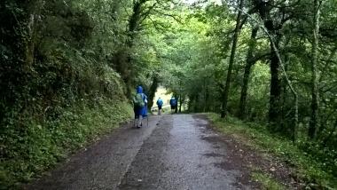 Camino near Triacastela